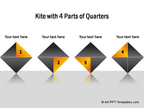 PowerPoint infographic Kite