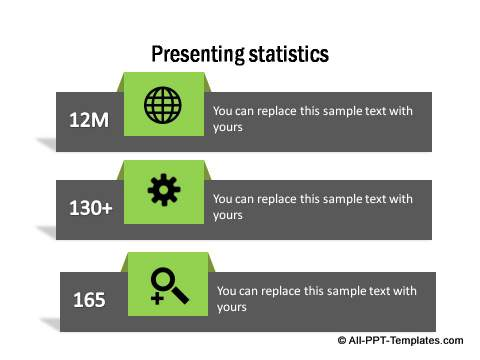 PowerPoint infographic statistics