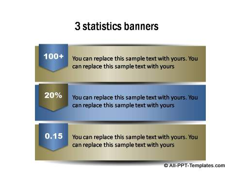 PowerPoint infographic banner