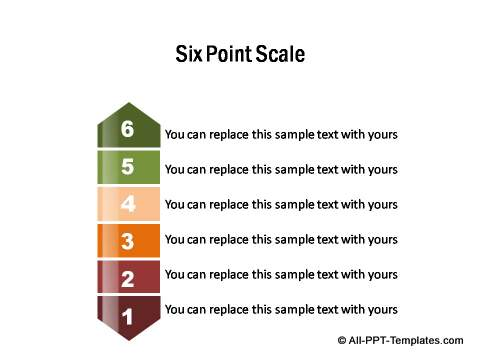 PowerPoint infographic scale
