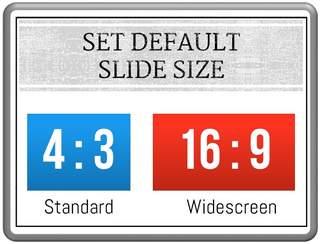 Default Slide Size