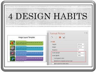 4 Habits for Professional Design
