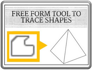 Trace Shapes Freeform