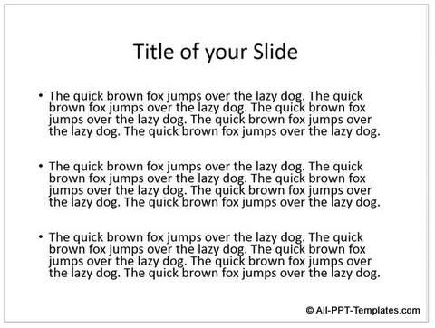PowerPoint Random Text Generated
