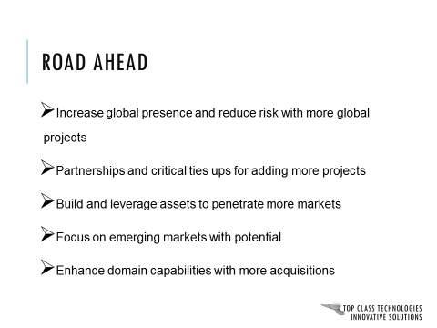 Corporate Presentation Roadmap Slide : Before