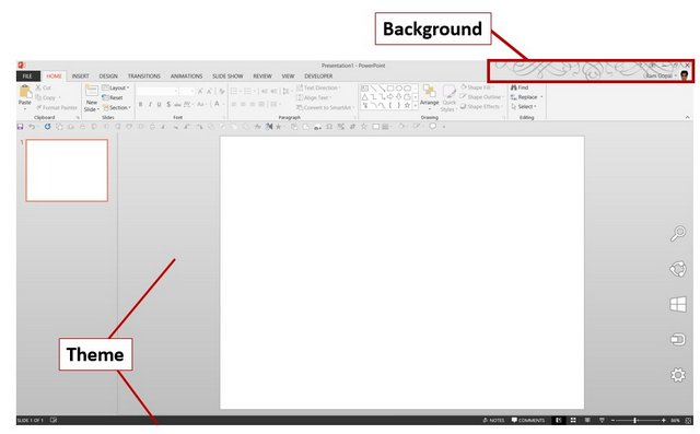 PowerPoint Office Background and Theme