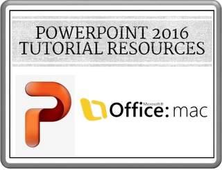 PowerPoint 2016 Tutorials