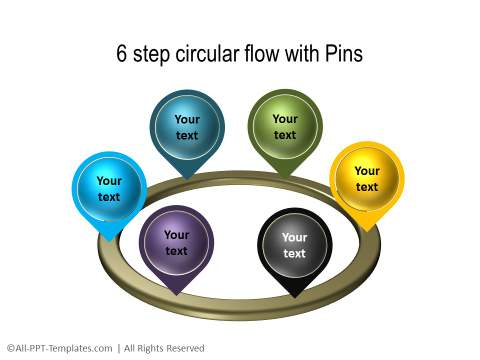 PowerPoint 3D Circle 07
