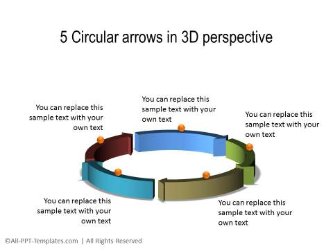 PowerPoint 3D Circle 12