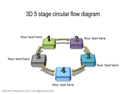 PowerPoint 3D Circle 13