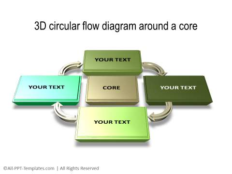 PowerPoint 3D Circle 23