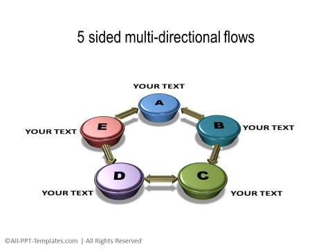 PowerPoint 3D Circle 24