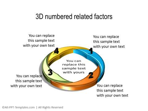 PowerPoint 3D Circle 31