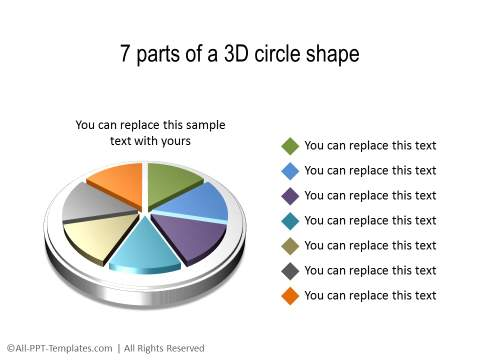 PowerPoint 3D Circle 32