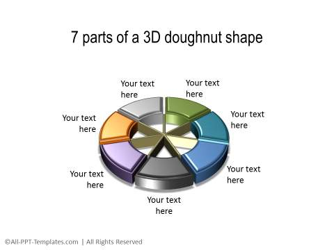 PowerPoint 3D Circle 33