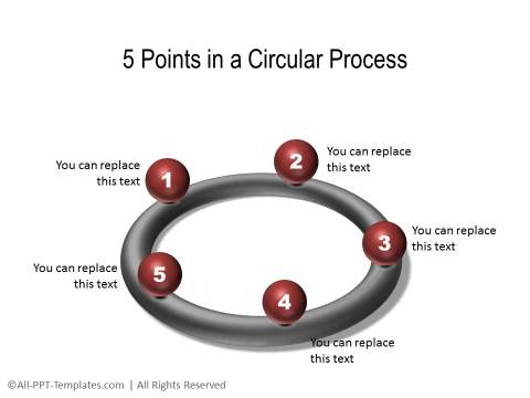 PowerPoint 3D Circle 36