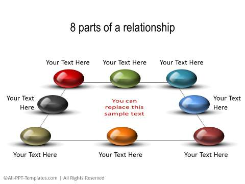 PowerPoint 3D Relationship 22