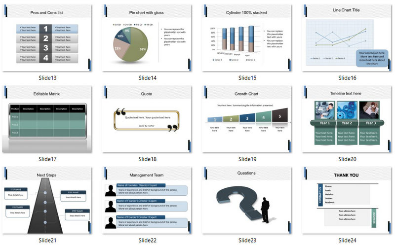 PowerPoint Building Construction Template 02