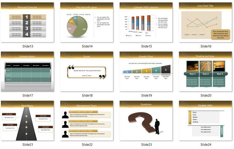 PowerPoint Car Design Template 02