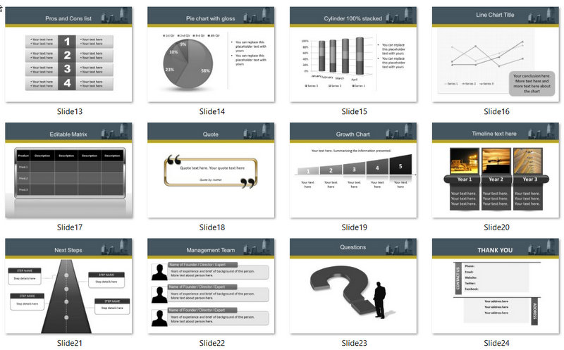 PowerPoint Construction Discussion Template 02