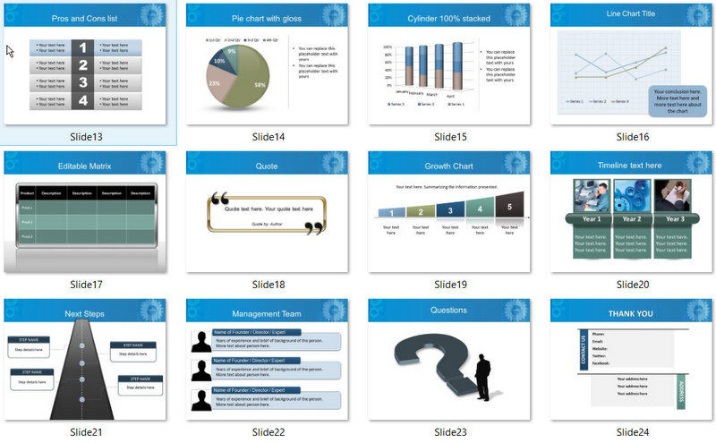 PowerPoint Engineering Computers Template 02