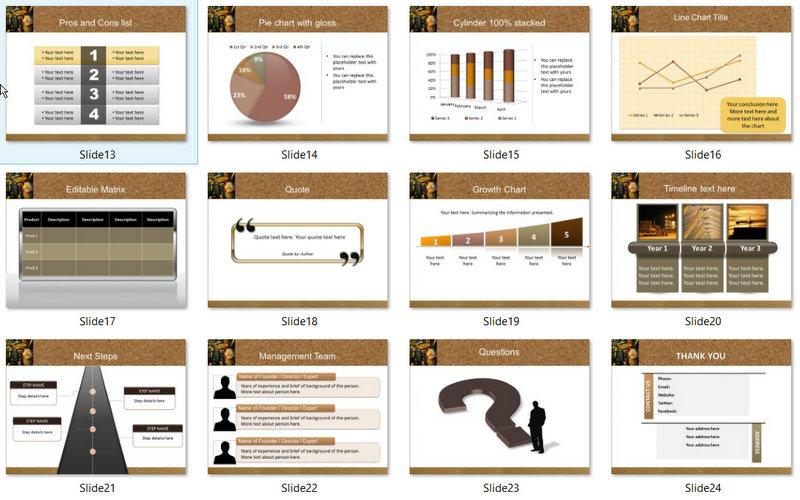PowerPoint Engineering Photos Template 02