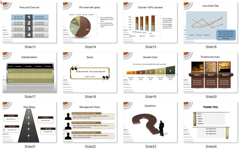 PowerPoint Engineering Technical Template 02