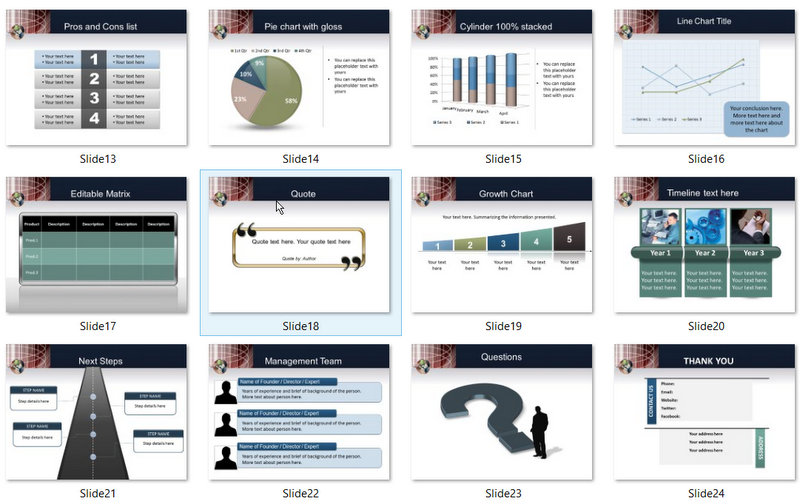 PowerPoint Engineering World Template 02