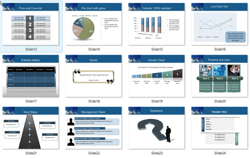 PowerPoint Power Template 02