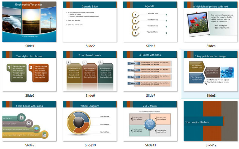 PowerPoint Renewable Energy Template 01