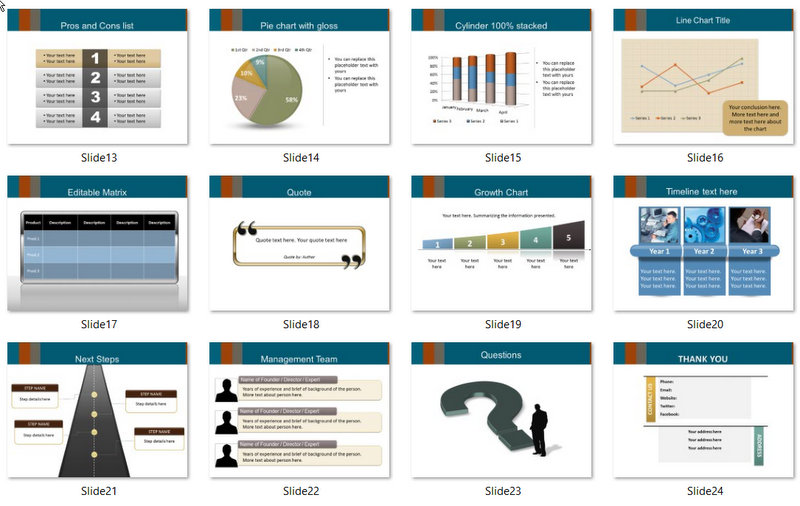 PowerPoint Renewable Energy Template 02