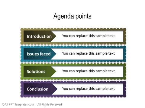 Powerpoint Agenda Slides
