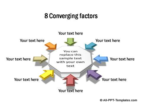 8 factors converging in octagon form