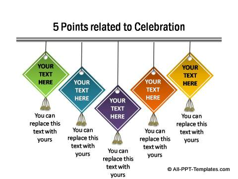 5 points for celebration