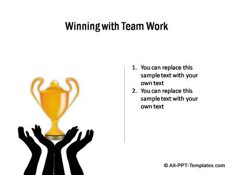 Winning with team work