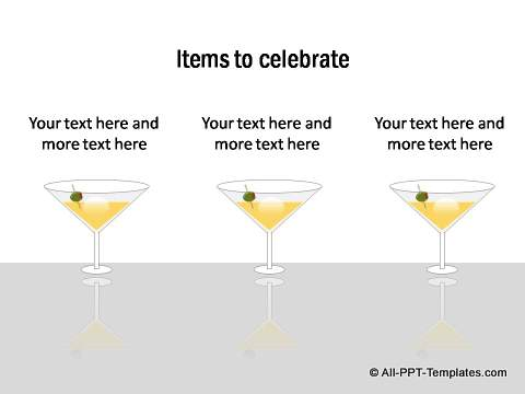 3 items to celebrate