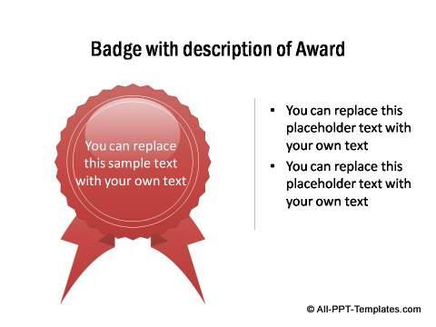 Badge of appreciation