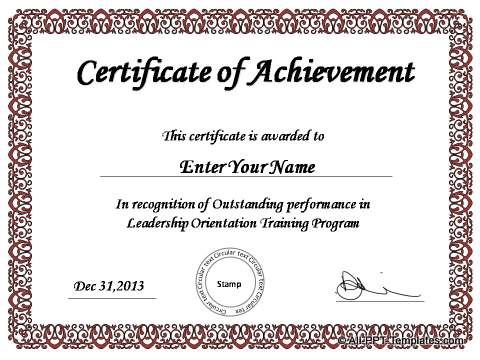 ppt certificate template - gse.bookbinder.co, Modern powerpoint