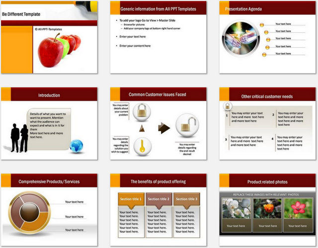 PowerPoint Be Different Charts 01