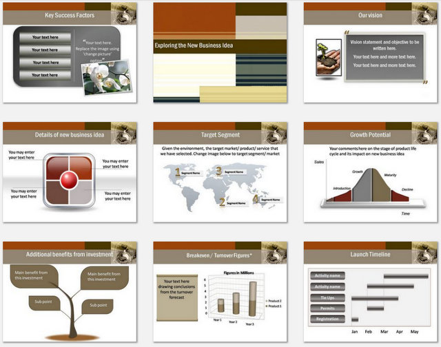 Powerpoint Group Effort Charts 2