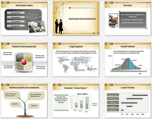 Powerpoint New Business Deal Charts 2