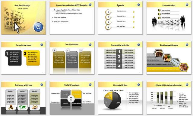 PowerPoint Breakthrough Charts 1