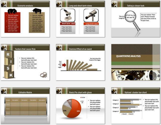 PowerPoint Business Internals Charts 2