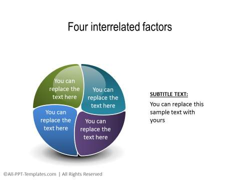 PowerPoint Segmented Circle 02