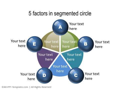 PowerPoint Segmented Circle 04