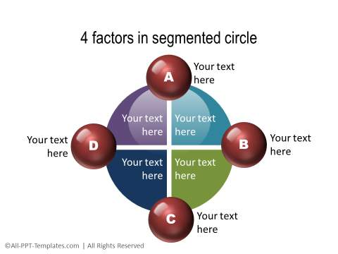 PowerPoint Segmented Circle 05