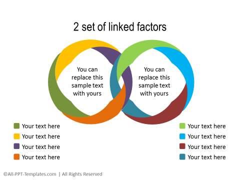 PowerPoint Segmented Circle 14