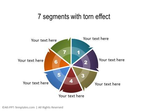 Powerpoint segmented circle diagrams powerpoint segmented circle 17 ccuart Image collections