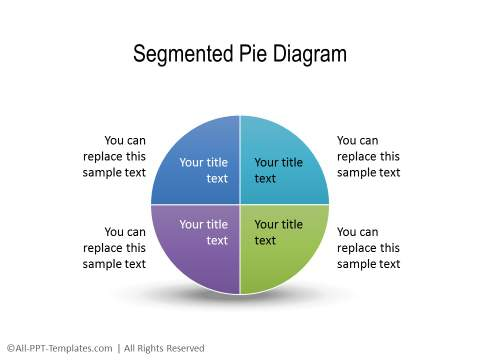 PowerPoint Segmented Circle 21