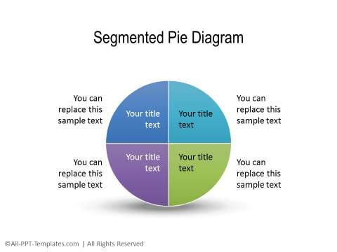 PowerPoint Segmented Circle 21